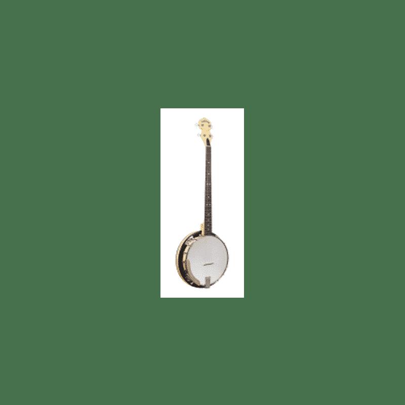 4-string-Cripple-Creek-Plectrum-banjo-with-resonator