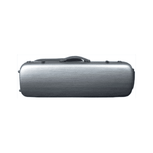 Hidersine-Case-Polycarbonate-Violin-Oblong-Brushed-Silver