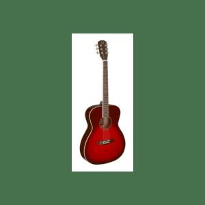 transparent-redburst-acoustic-auditorium-guitar-with-solid-spruce-top-bessie-series