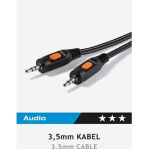 Audio connection 3.5mm, 2,5m , Vivanco 46045