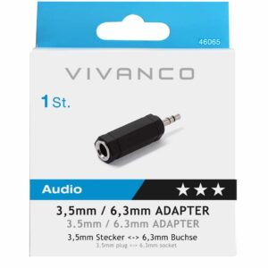 Adapter 3.5mm/6.3mm