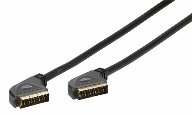 Scart connection - For all RGB and S-VHS connections with data cables, e.g. video recorders with RGB dubbing to TV equipment
